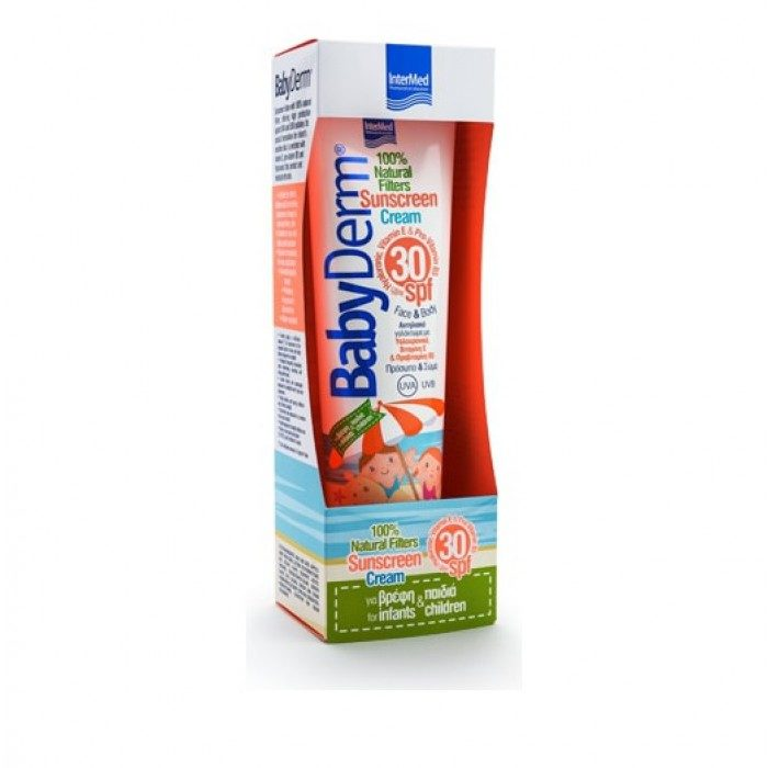 BabyDerm Sunscreen Cream Spf30